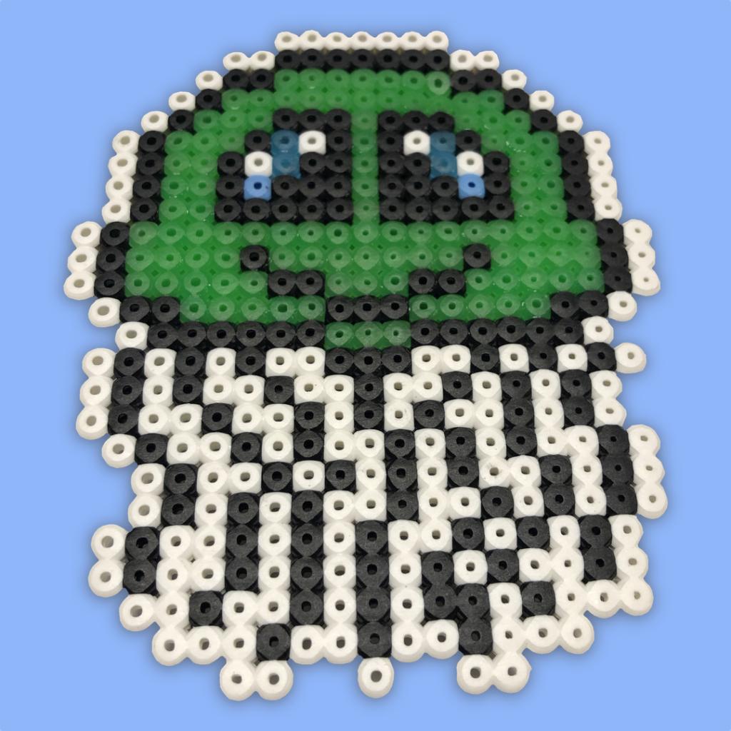 Jellyfish bead pattern