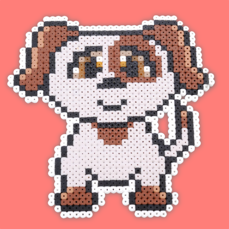 Puppy made of NABBI beads