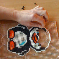 Penguin bead pattern