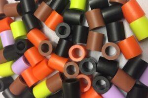 Jumbo beads autumn colors