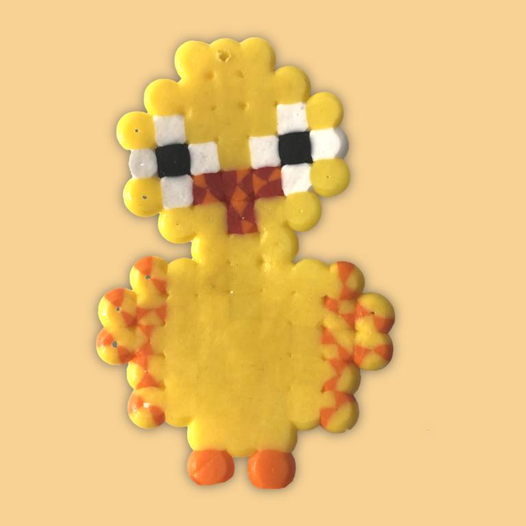 Easter Chicken bead pattern