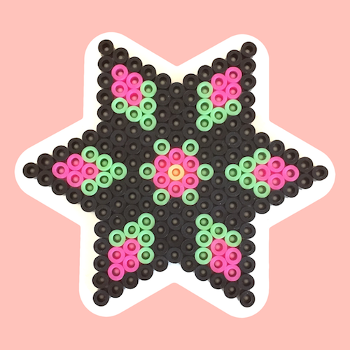 Bead colors and pegboard shapes