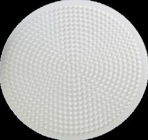 Circle shaped pegboard