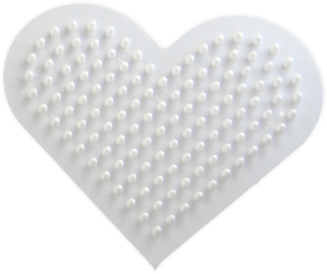 Small Heart shaped pegboard