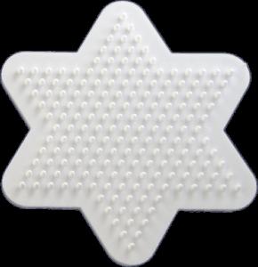 Star shaped pegboard