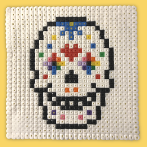 Mexican Feast Day of the Dead bead pattern