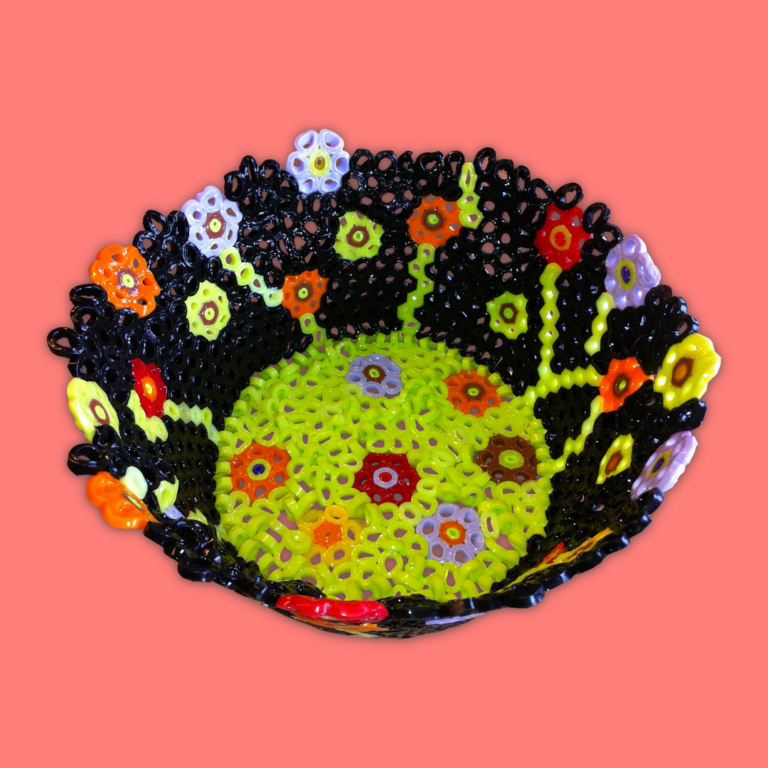 Melted Bead Bowl Tutorial